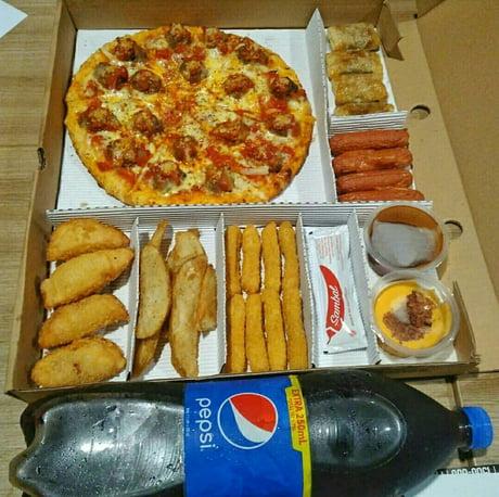 $10 break fasting menu in my country