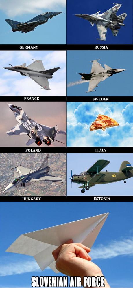 Slovenian air force 9GAG