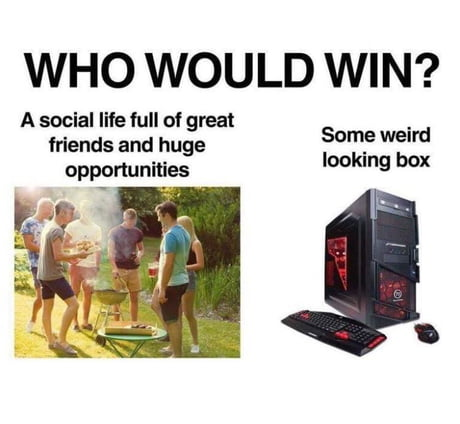 The  choice is obvious