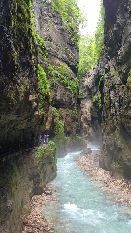 Partnachklamm - currently visiting Germany and this is one of the most beautiful places I've ever been to