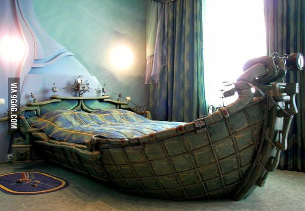 Etonnant ... I Want To Sleep On This Pirate Ship Bed ...