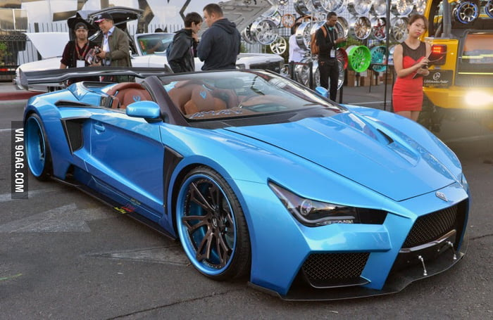 A Variant Of Jokers Car In Suicide Squad It S Called The Vaydor