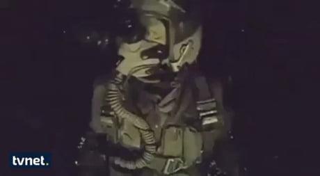 Saltbae bombing ISIS