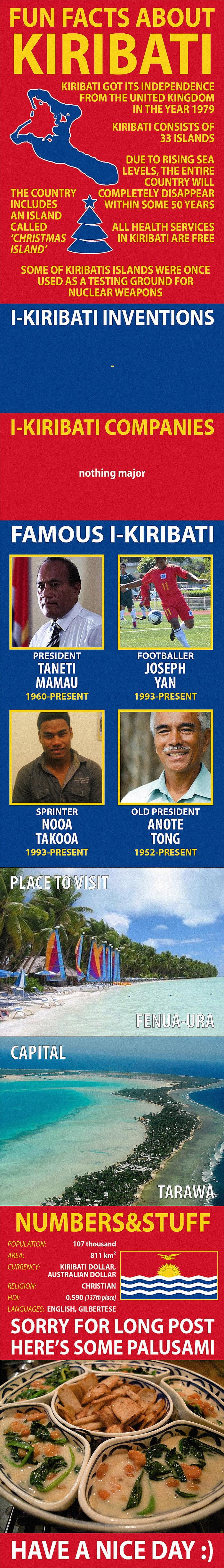 Fun Facts about Kiribati - 9GAG