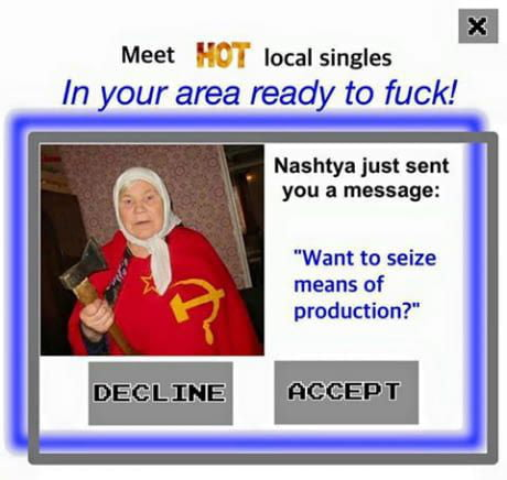Image result for hot singles in my area meme