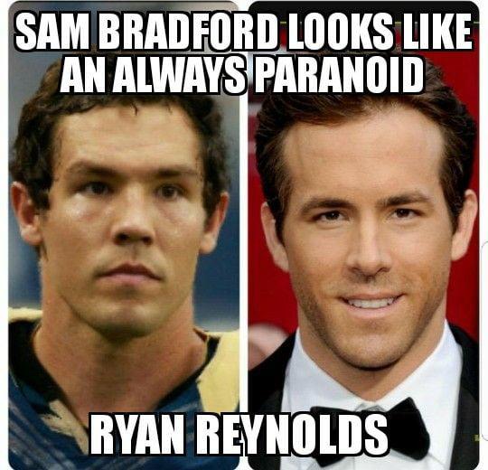 Sam Bradford Ryan Reynolds