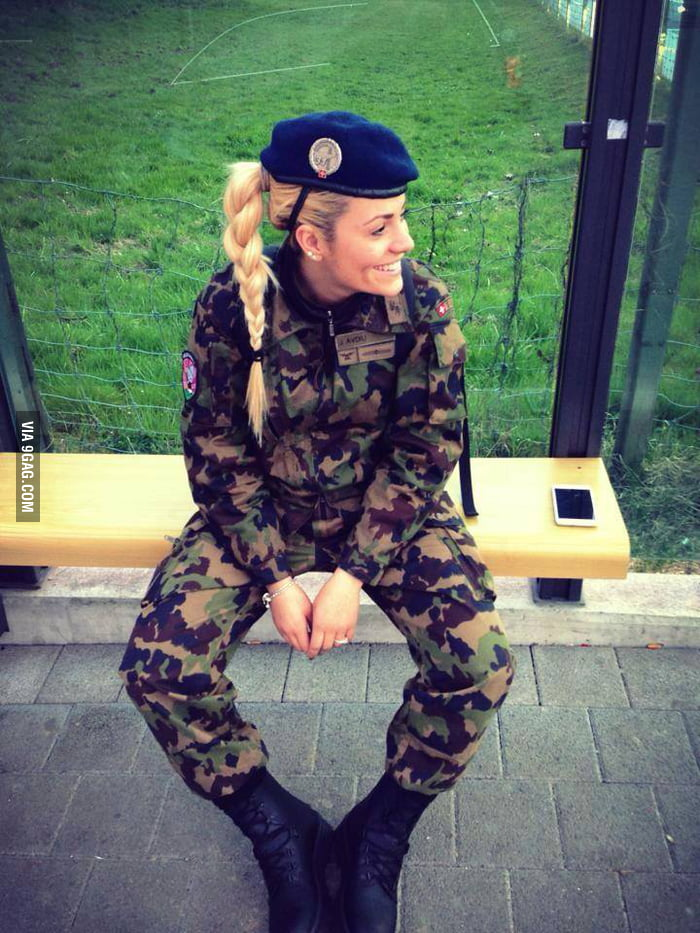 army in Hot uniform girls