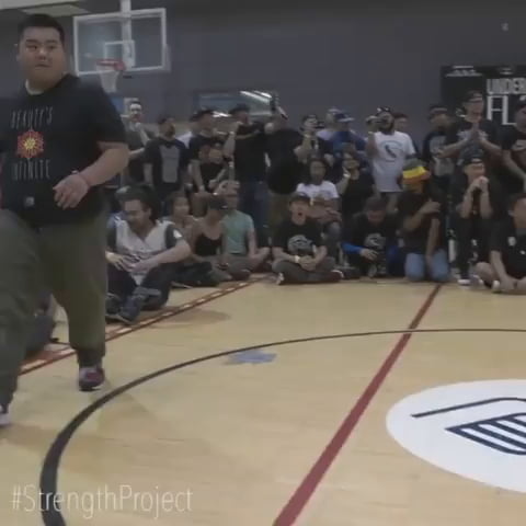 Big boy can break dance