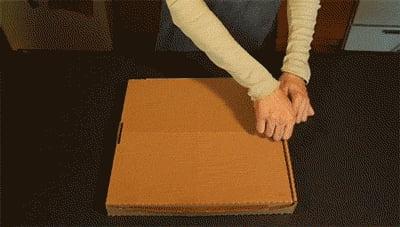 Great pizza box idea