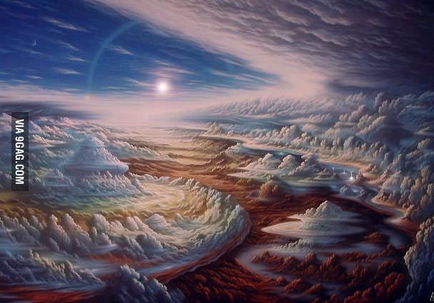 Surface of Jupiter (concept art)