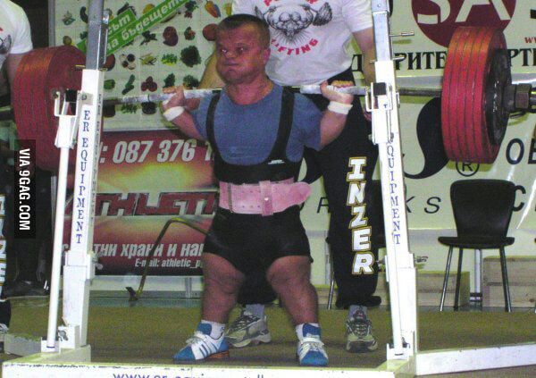 How To Buff A Car >> This is Andrzej Stanaszek. He is a midget powerlifter. he ...