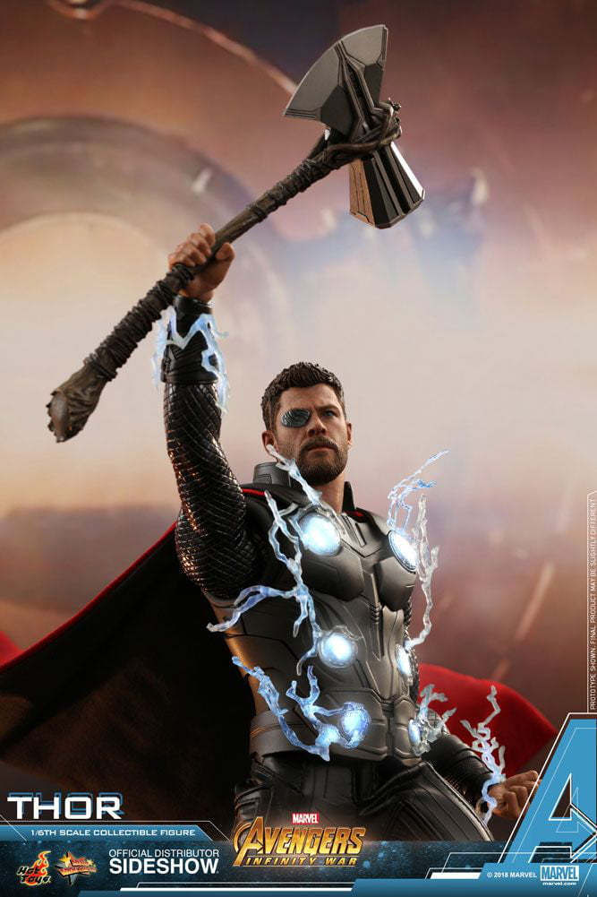 Look At Thor And His New Weapon In Infinity War Stormbreaker 9gag