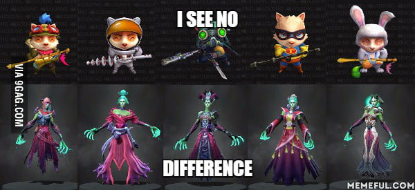 Dota 2 vs LoL that is better