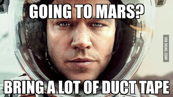 My Conclusion Of This Movie The Martian 9gag