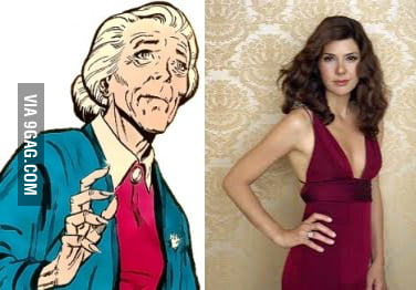 Marisa Tomei is Aunt May in the new spiderman film. AILF?