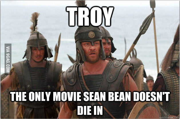 Only movie he doesn't die in