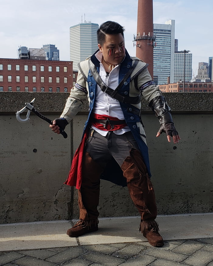 Assassins Creed Iii Connor Cosplay What Do You Think 9gag