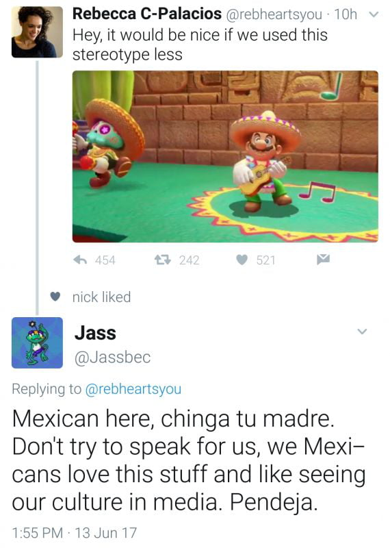 From Look It S A Mexican Mario That S Hilarious And