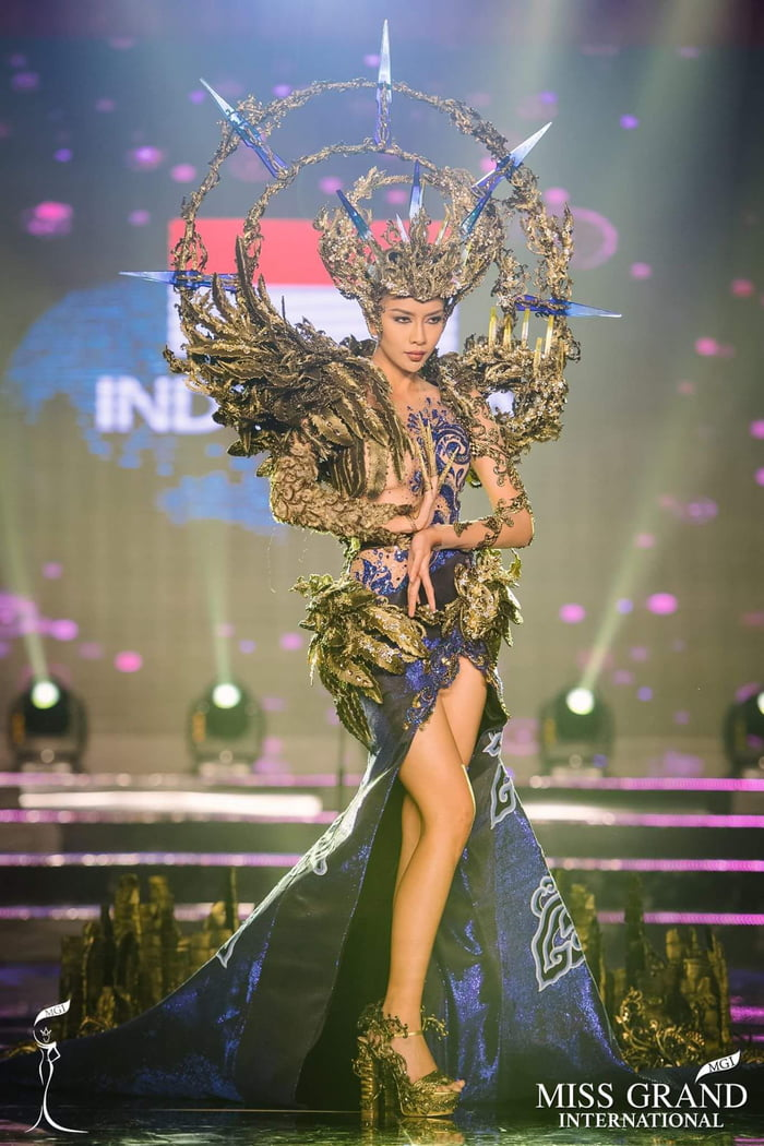 This Is Indonesia Finalist In National Costume Miss Grand International