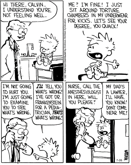 Calvin and Hobbes, I upload daily you guys!! Have a good one :)