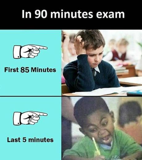 Me in exam