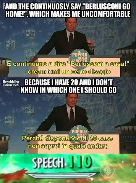 Berlusconi is the original Trump