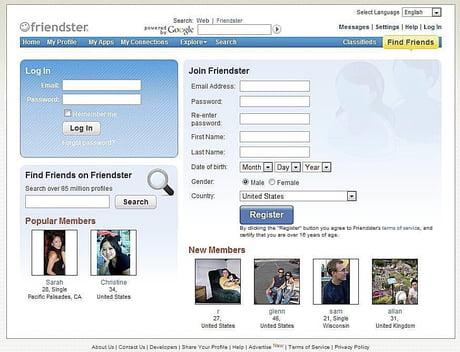 friendster online dating