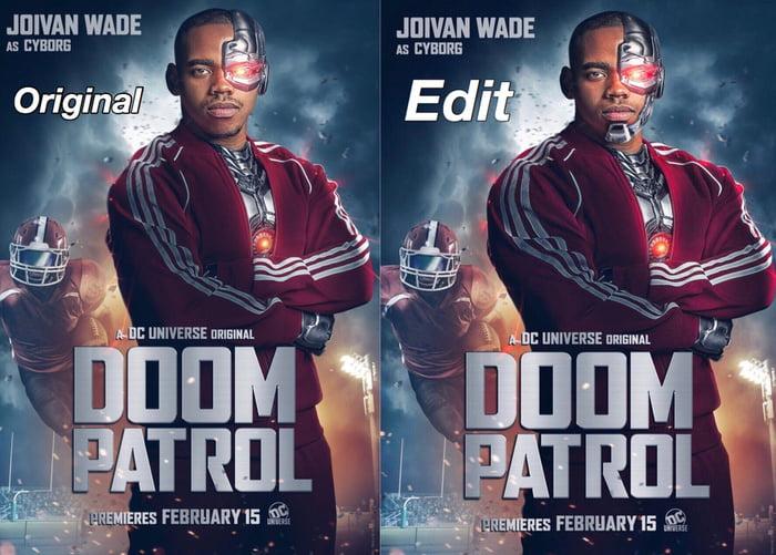 doom patrol cyborgs girlfriend