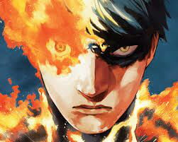 Can Someone Please Share Full Body Art Of Agni From Fire Punch Can T Find It On The Internet 9gag
