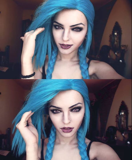 Wig and Jinx makeup test By Andrasta...
