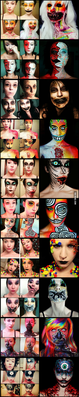 Makeup Transformations by Stephanie Fernandez.