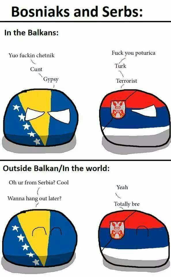 Muslim Serbs and Serbs*