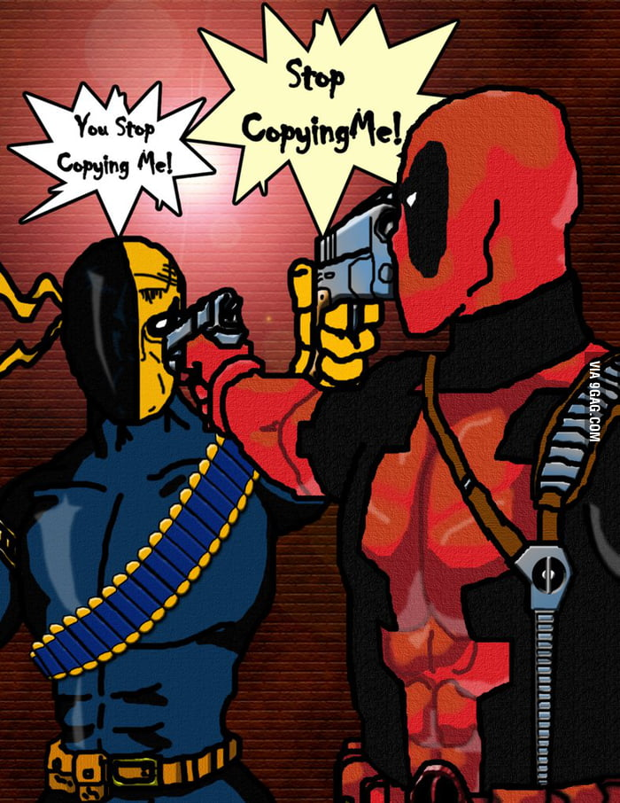 Wase Wilson Vs Slade Deadpool Deathstroke