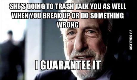 Trash dating