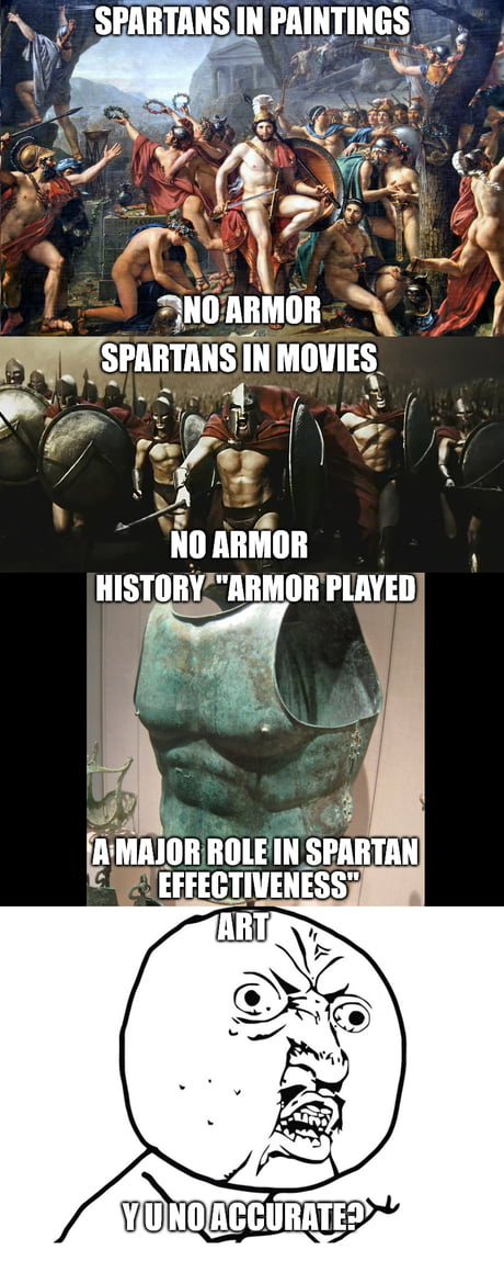They were not hot naked warriors!