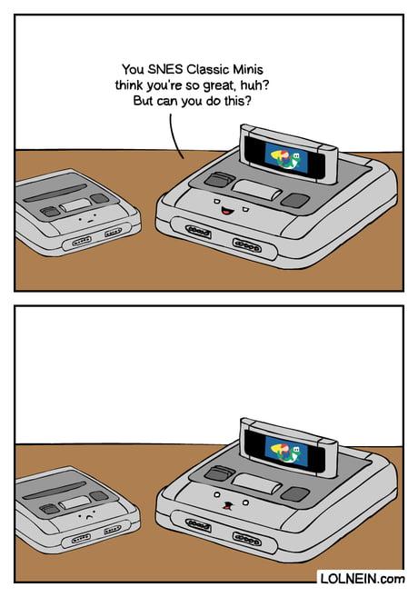 SNES Classic Mini vs SNES