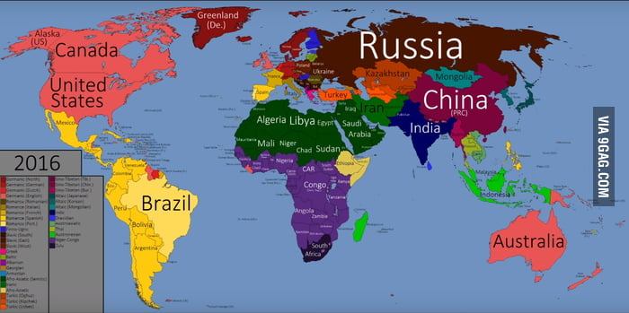 Map Of The World Colored By Language Family GAG - Language family map