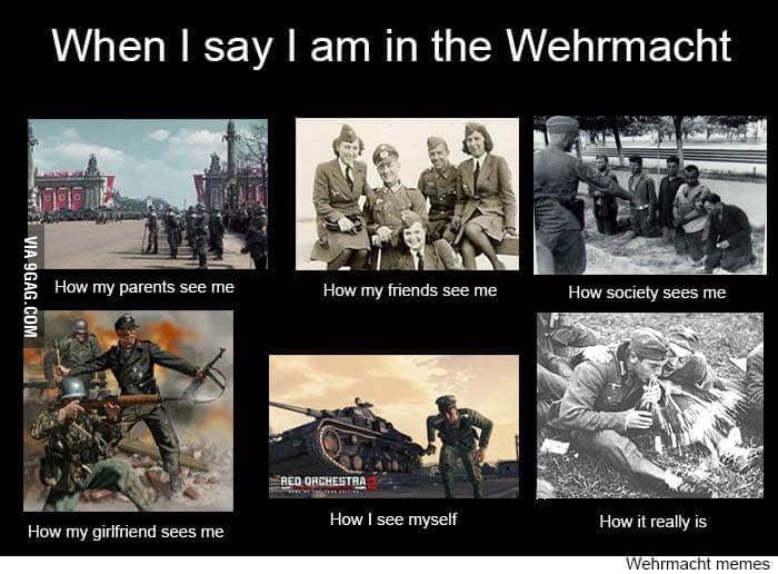 Wehrmacht Memes Grabs Popcorn 9gag