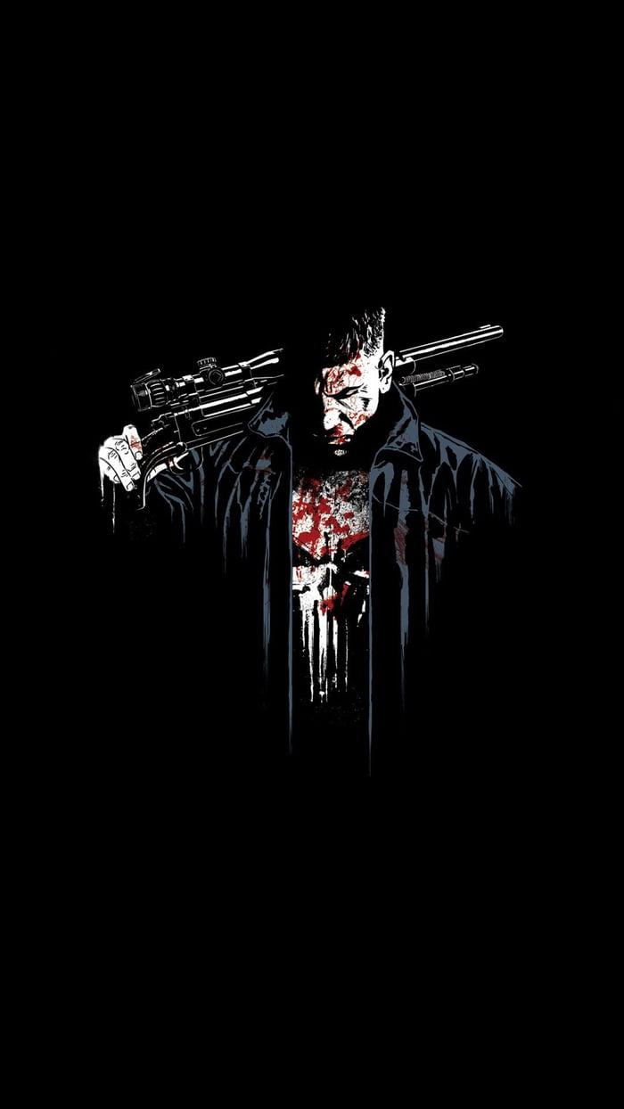 My Lock Screen Wallpaper.. Punisher 💀