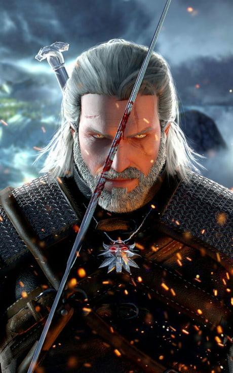 Geralt Of Rivia Mobile Wallpaper 9gag