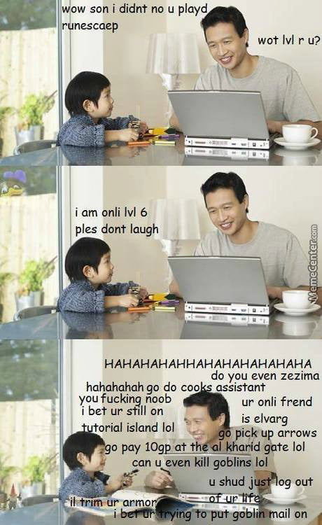 Those asian dads