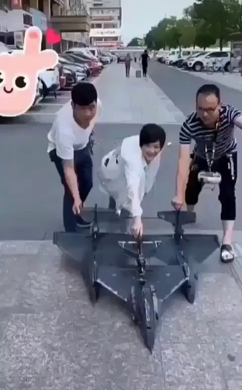 A man selling a toy