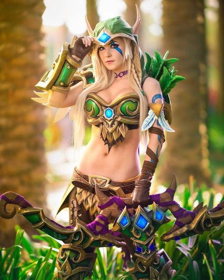 Danielle Beaulieu as Alleria Windrunner (World of Warcraft)