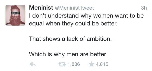 Men are awesome