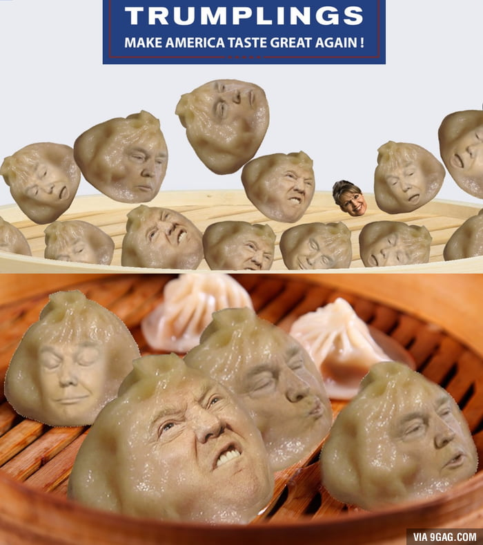 Trumplings: Guaranteed to make you lose appetite