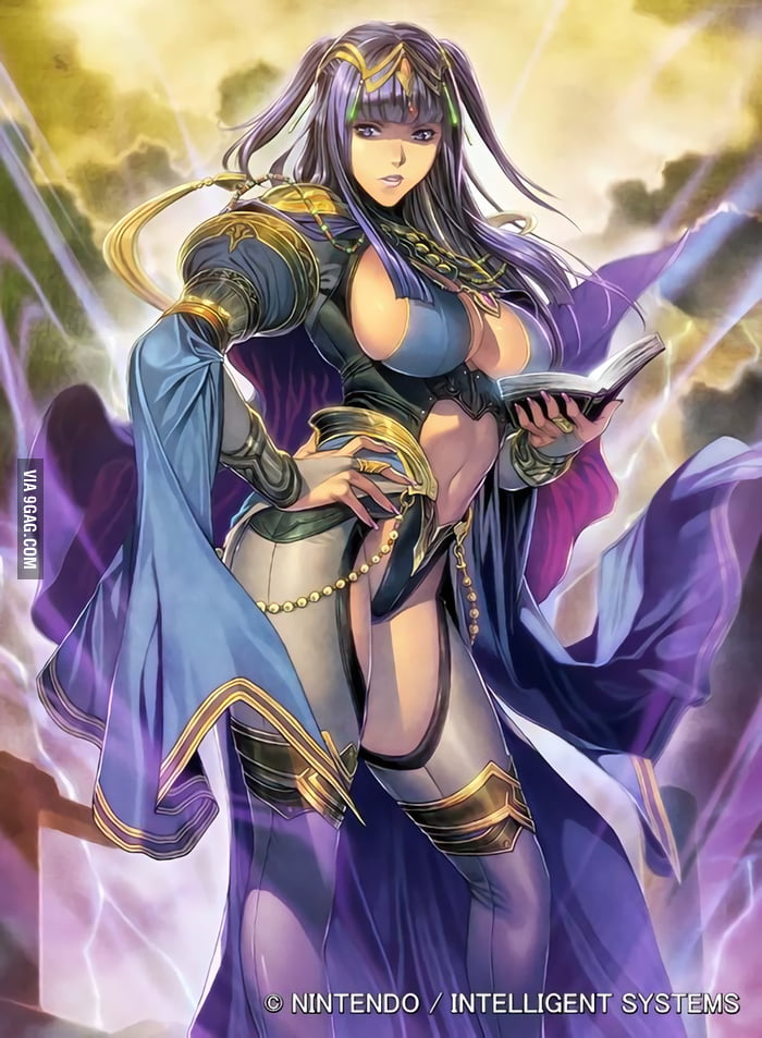 Nintendo Actually Hired Hentai Artist Homare To Redesign Fire Emblems Tharja For
