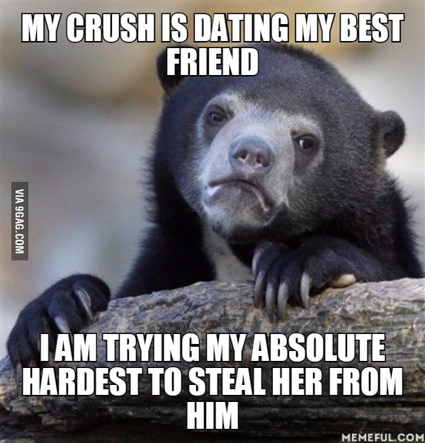 my best friend and crush are dating