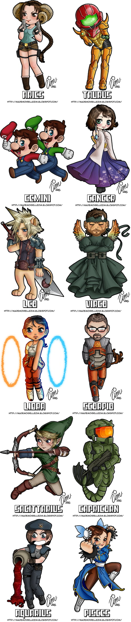 What Is Your Zodiac Sign? - Gamer Edition (By Mademoiselle