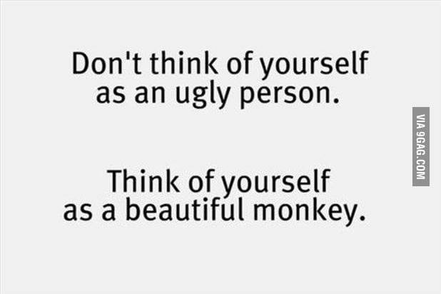 To all the beautiful monkeys out there