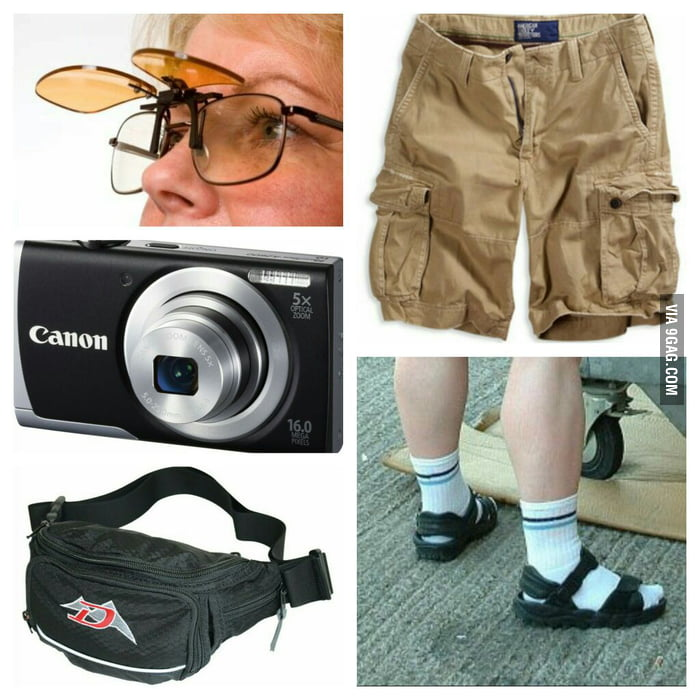 The Quot German Tourist Starter Pack Quot 9gag